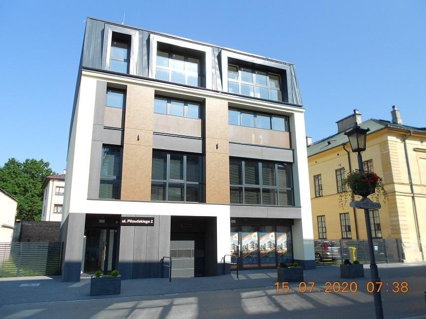 """Nowe biuro w budynku """"Przy Bibliotece"""" Mńsk Mazowiecki, ul. Piłsudskiego 2- vis'a'vis Biblioteki Miejskiej"""